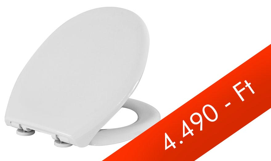 Lecsapódásmentes WC ülőke levehető fém zsanérral