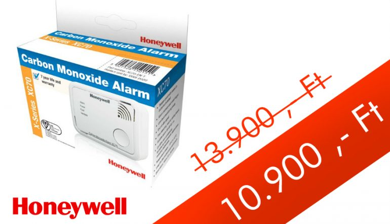 HONEYWELL XC70-HU-A Szén-monoxid (CO) érzékelő