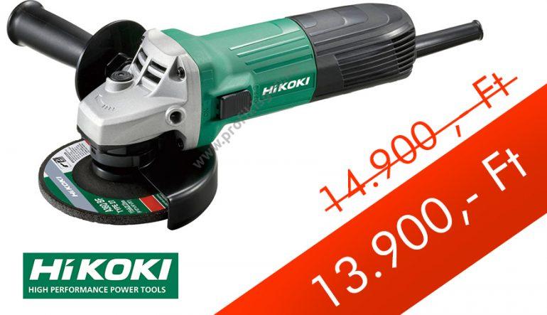 Hikoki (Hitachi) Sarokcsiszoló G13STA 600W, 125mm